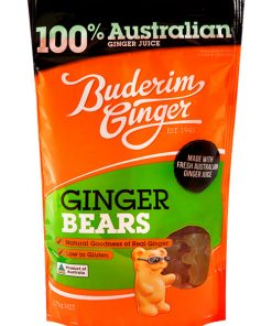 Buderim Ginger Bears 175g 1