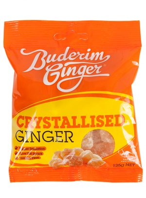 Buderim Ginger Crystalised Ginger 125g