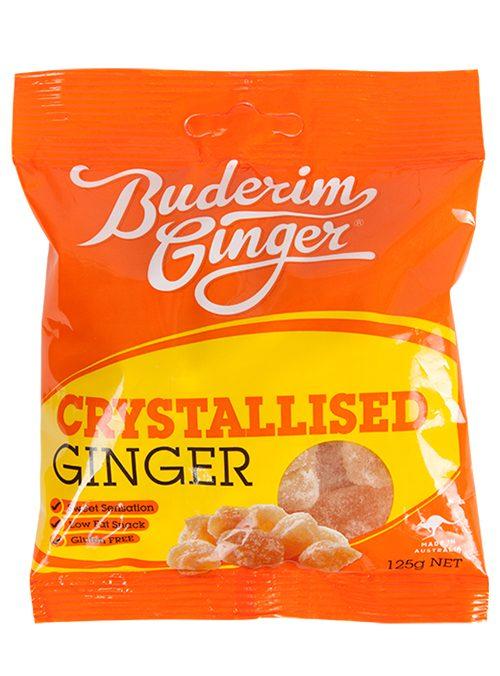 Buderim Ginger Crystalised Ginger 125g