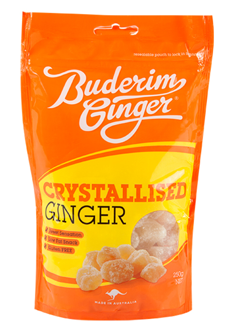 Buderim Ginger Crystalised Ginger 250g