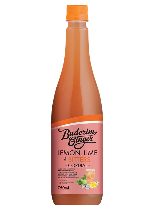 Buderim Ginger Lemon Lime Bitters Cordial