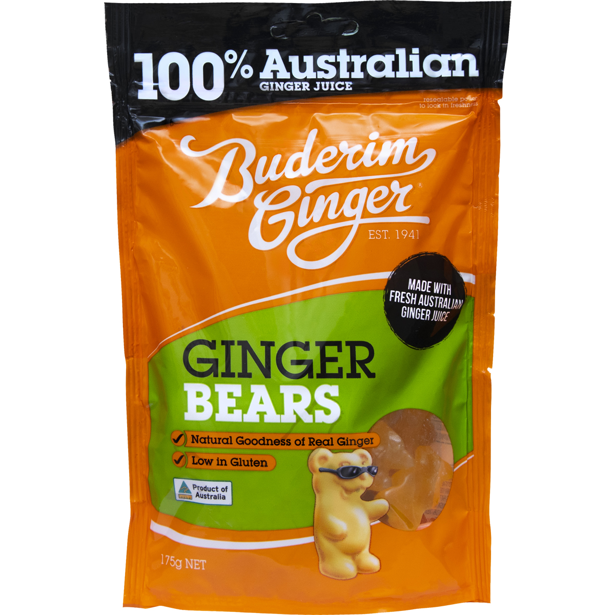 Product Ginger Bears 175g