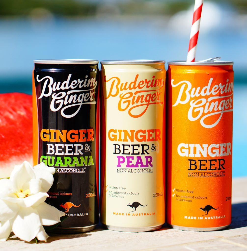Buderim Ginger Coles Ginger Beer Range Cropped