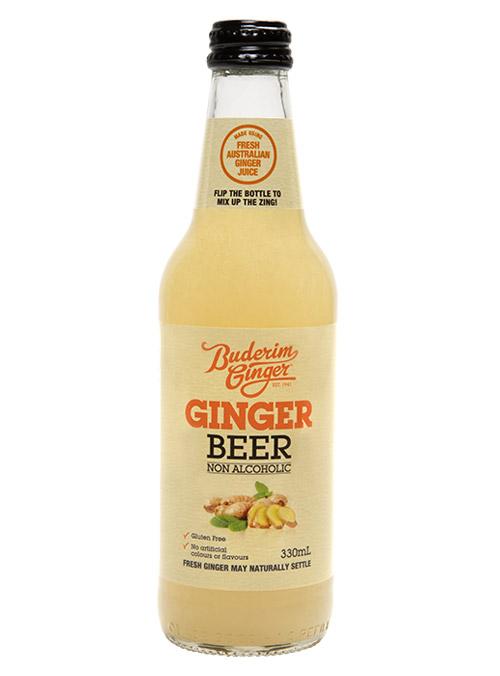 Buderim Ginger Beer Nonalcoholic Bottle 330ml 2