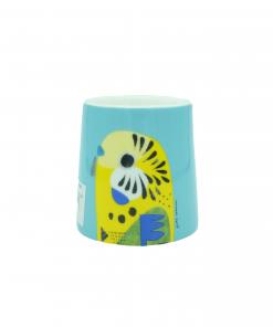 Pete Cromer Egg Cup Budgerigar01