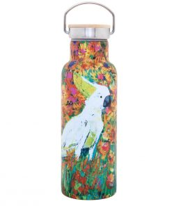 Product 500ml Stainless Steel Bottle Kenny The Cockatoo01