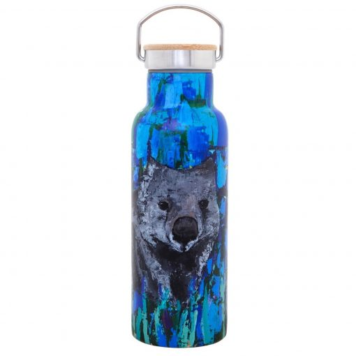 Product 500ml Stainless Steel Bottle Wilma The Wombat01