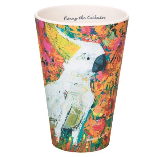 Product Bamboo Fibre Cup Kenny The Cockatoo01