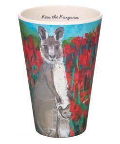 Product Bamboo Fibre Cup Kira The Kangaroo01