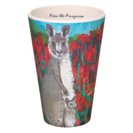 Product Bamboo Fibre Cup Kira The Kangaroo01