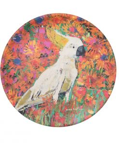 Product Bamboo Fibre Plate Kenny The Cockatoo01