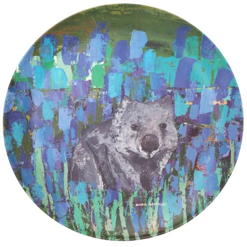 Product Bamboo Fibre Plate Wilma The Wombat01