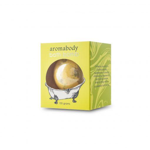 Product Bath Bomb Lemongrass Ginger01
