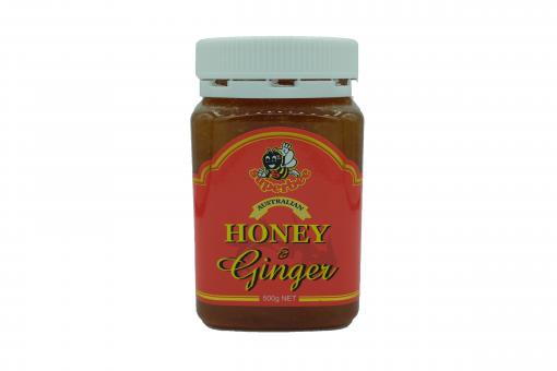 Product Honey Ginger 500g01