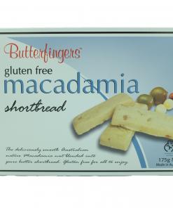Product Macadamia Shortbread Gf01