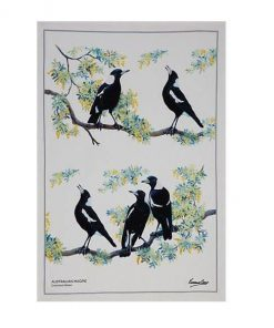 Product Tea Towel Australian Magpie01