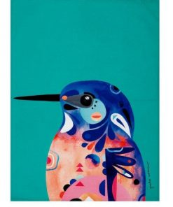 Product Tea Towel Azure Kingfisher01