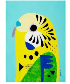 Product Tea Towel Budgerigar01