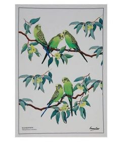 Product Tea Towel Budgerigar02