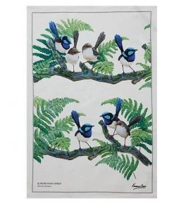 Product Tea Towel Fairy Wren01
