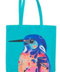 Product Tote Bag Azure Kingfisher01
