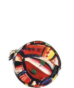 Product Coin Purse Round Full Moon Bush Flower01