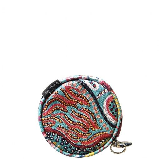 Product Coin Purse Round Full Moon Putipula01