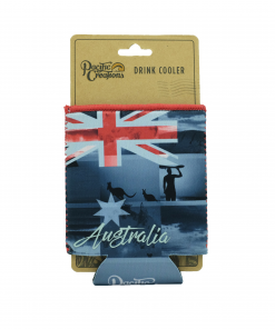 Product Drink Cooler Australia Photo Flag Design01