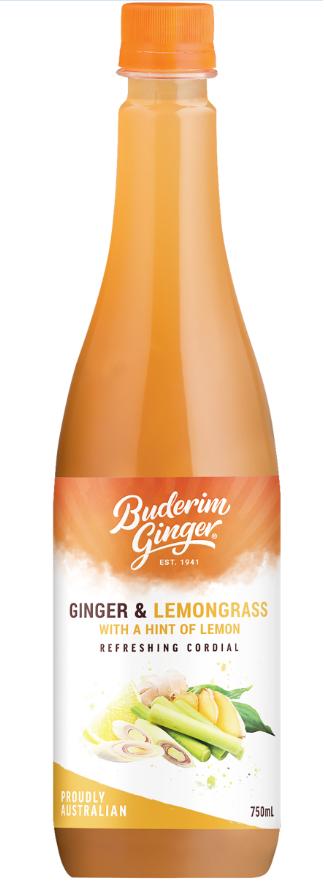 Product Ginger Lemongrass Lemon Cordial 750ml