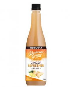 No Sugar Ginger Cordial